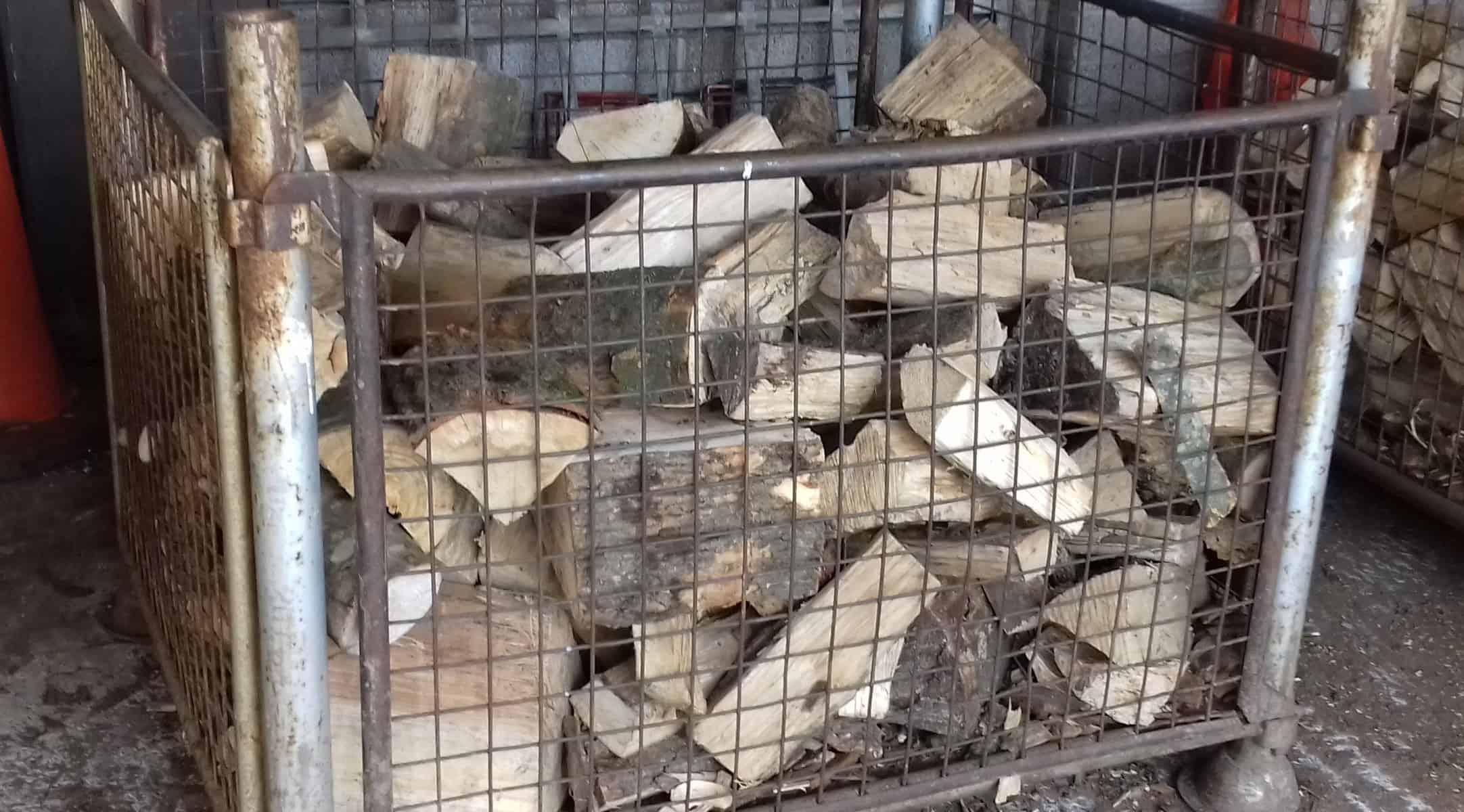 box of logs